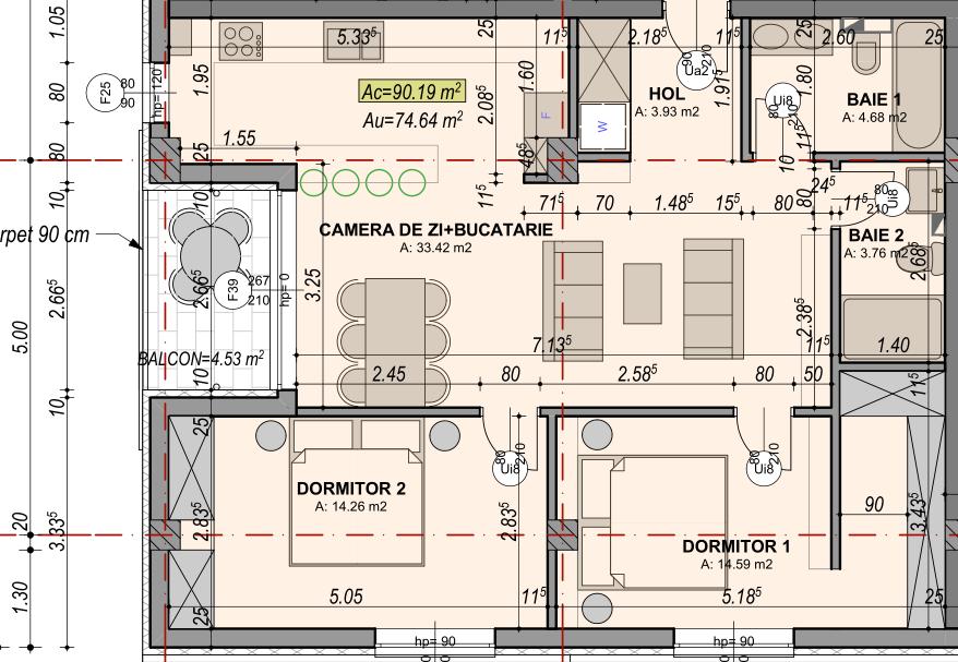 apartament doi