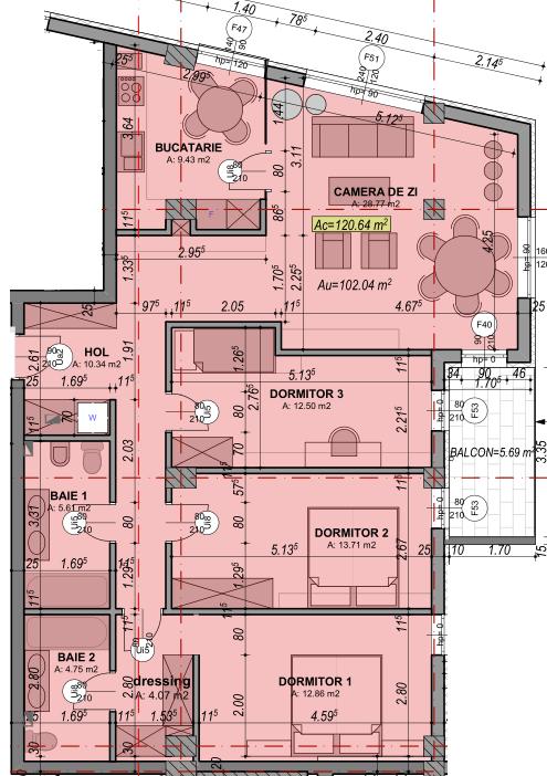 poza apartament 82 garden city sibiu