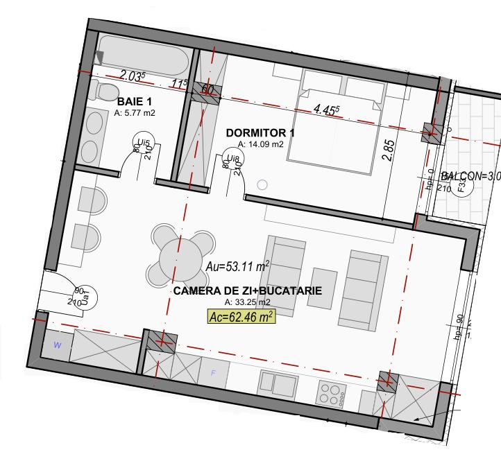 poza apartament 90 garden city sibiu
