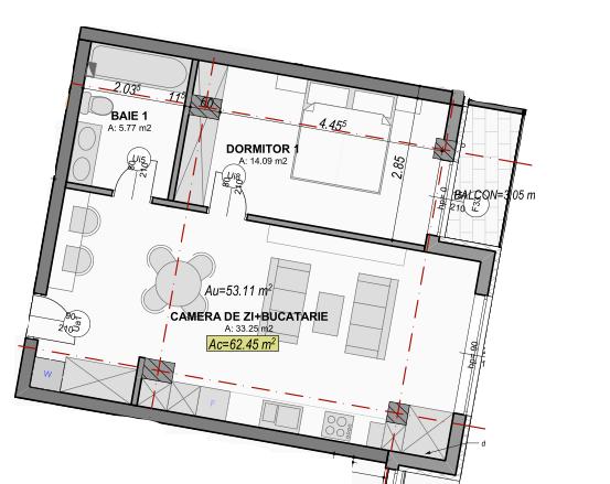 poza apartament 103 gardencity sibiu