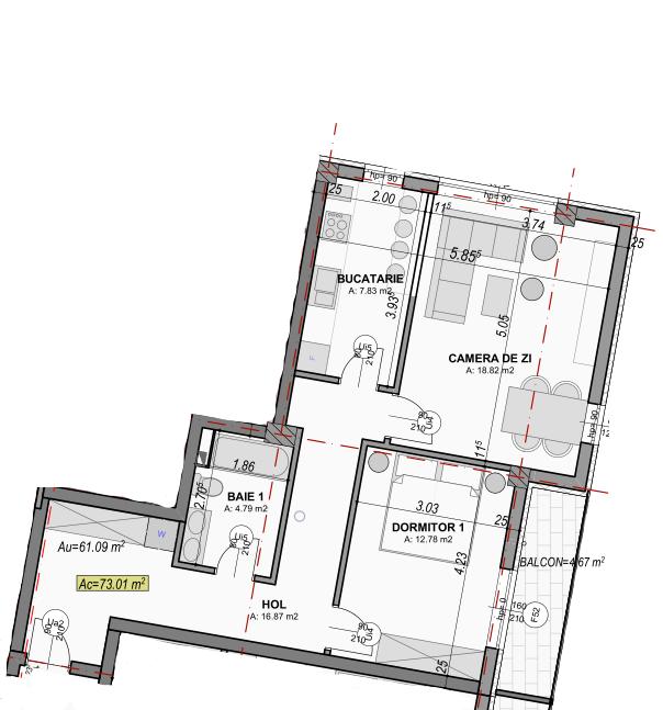 poza apartament 104 gardencity sibiu