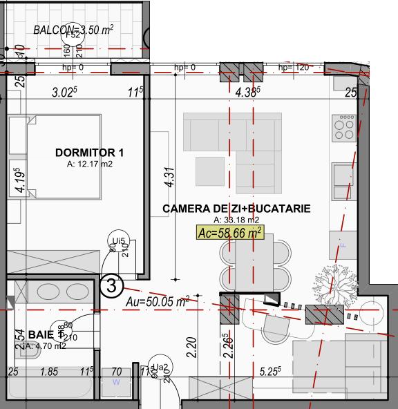 poza apartament 106 gardencity sibiu